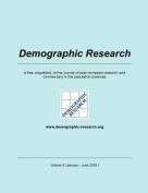 Demographic Research, Volume 8