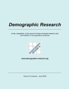 Demographic Research, Volume 10