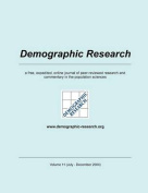 Demographic Research, Volume 11