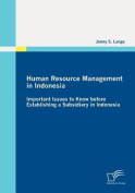 Human Resource Management in Indonesia