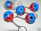 Kitchenware Shape O Ball Toy Keychain Lot 5