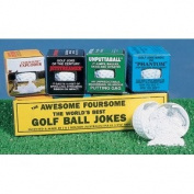 Golfers Gag Wacky Tricks Golf Ball Jokes Set