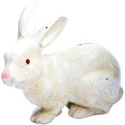 HomArt Cast Iron Mr. Rabbit, White