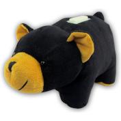 Black Bear Plush Huggie Bank