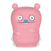Uglydoll 13cm by 10cm by 8.9cm Trunko  Ceramic Coin Bank Collectible, Light Pink