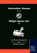 Instruction Manual for the MG Midget Sports Car