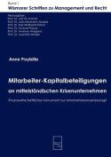 Mitarbeiter-Kapitalbeteiligungen an Mittelstandischen Krisenunternehmen [GER]
