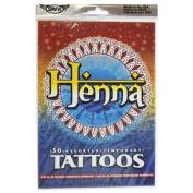 Henna Tattoos, Over 50 Temporary Tattoos