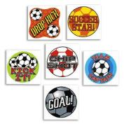 Temporary Soccer Tattoos
