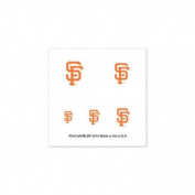 San Francisco Giants Official MLB 2.5cm x 2.5cm Fingernail Tattoo Set by Wincraft