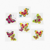 Kids Temporary Butterfly Tattoos - 144