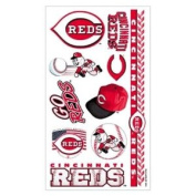 Cincinnati Reds Baseball Temporary Tattoos