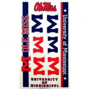 Mississippi Rebels Official Logo Tatoo Sheet