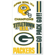 Green Bay Packers Titletown USA Temporary Tattoos