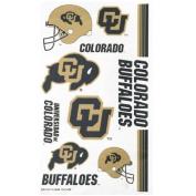 Colorado Buffaloes Official Logo Tatoo Sheet