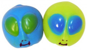 Alien Face Sticky Splat Balls