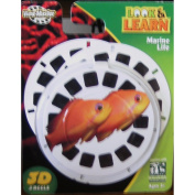 Viewmaster Look and Learn 3d Reels Marine Life