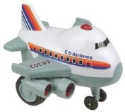 Zoomsters Jumbo Jet Friction Wind-up Toy 10cm