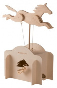 Automata Wood Winding Toy DIY Kit - Galloping Horse