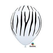 Mayflower Balloons 9444 11 Inch Zebra Stripes Latex Pack Of 100