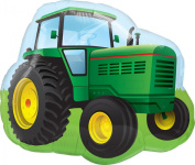 Qualatex - TRACTOR (Supershape 90cm Foil Balloon){Birthday Party}
