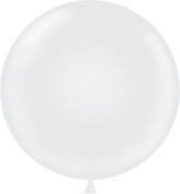 Mayflower Balloons 38142 43cm White Tuftex Pack Of 72