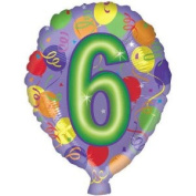 # 6 Printed Mylar Balloon [Toy]