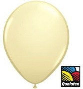 Qualatex 13cm Round Balloons, Ivory Silk - Pack of 20