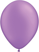 Pioneer Balloon Company 100 Count Latex Balloon, 28cm , Neon Violet
