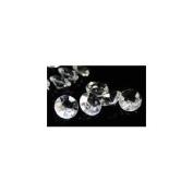 5 Carat Clear Acrylic Diamond Confetti - Bag of 400