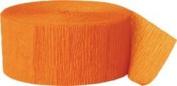 Crepe Streamer 25m 2/Pkg-Orange
