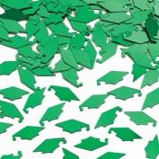Emerald Green Mortarboard Graduation Confetti