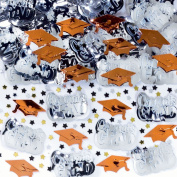 Orange Mixed Grad Confetti