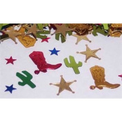 Beistle CN083 Western Party Confetti - Pack of 6