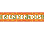 Teacher Created Resources Welcome (Spanish) Banner, Multi Colour
