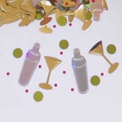 Beistle CN034 Martini Bar Confetti - Pack of 6