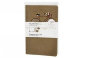 Moleskine Ornament Card Large - Snowy Bicycle
