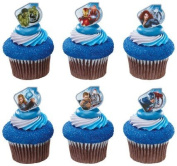 Marvel Avengers Superhero Rings Party Cake Rings or Cupcake Toppers Toy Rings 12 Pieces.