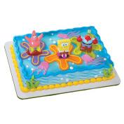 SpongeBob SquarePants Lanchers Cake Topper Set