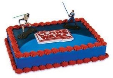 Star Wars - The Clone Wars - Cake Decorating Kit