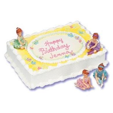 Ballet Cake Decorating Kit - 2 Ballerina Figures