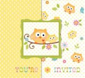 Bulk Owl Baby Shower Invitations