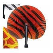 Safari Print Folding Fan