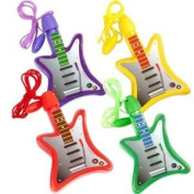 Bubble Guitar Necklaces Assorted (4) Party Supplies