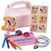 Disney Minnie's 1st Birthday Party Favour Box Party Supplies