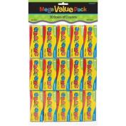 Crayons Mega Value Pack Party Favours 30/Pkg AMSCAN 392658