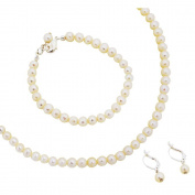 Cathys Concepts S1920S 6mm Classic Freshwater Pearl Jewellery Set