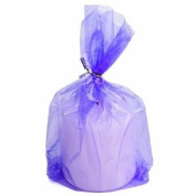 2 Packages of 48 - Purple See Thru Plastic Cello Treat and Favour Bags -96 Total Bags