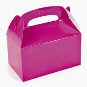 Dozen Hot Pink Treat Boxes