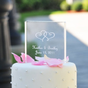 Cathys Concepts 1305 Acrylic Square Cake Topper